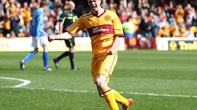 Jamie Murphy won the SPL player of the month award for December