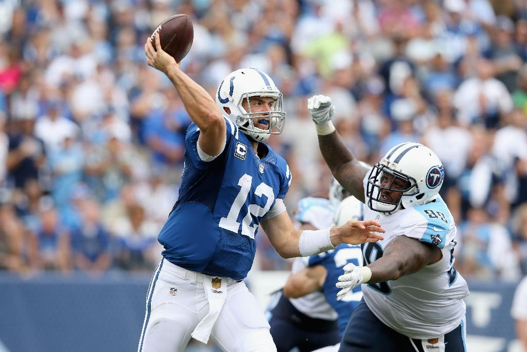 Colts' QB Luck questionable for Jacksonville clash