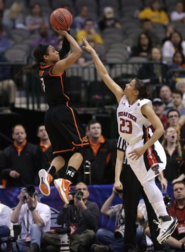Oklahoma St. women oust Texas Tech 59-54 in Big 12