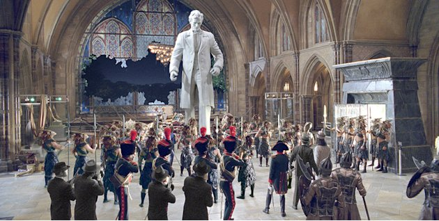 Night at the Museum: Battle of the Smithsonian Production Photos 2009 twentieth Century Fox