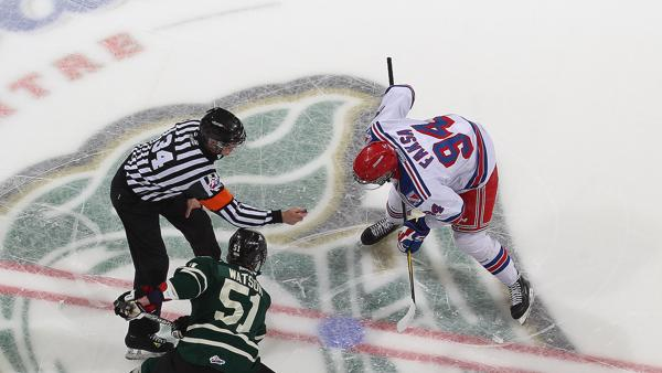 Kitchener Rangers v London Knights - Game 3 Getty Images