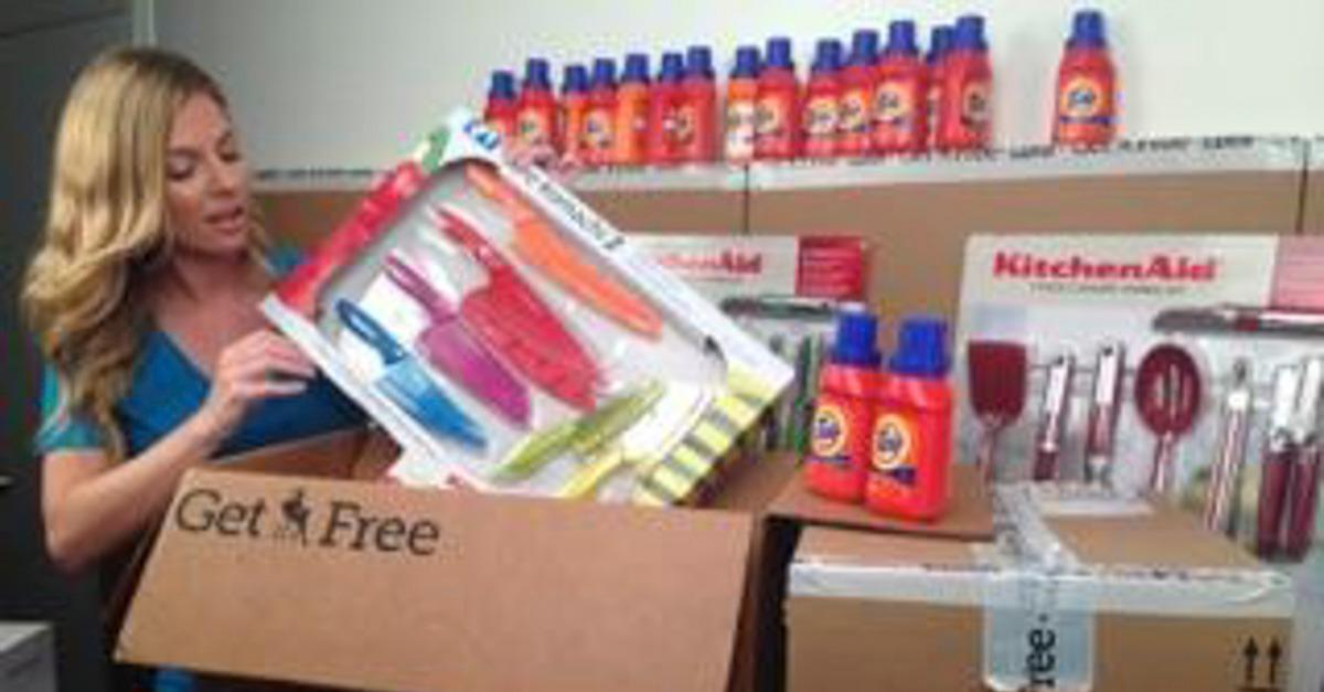 Piles of Freebies Are Delivered Every Day!