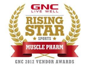 "MusclePharm Named the 2012 GNC ""Rising Star"" Sports Vendor"