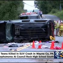 3 Local High school Students Killed In Crash
