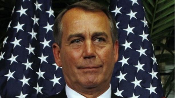 Boehner's Pizza Party to Avert American Bankruptcy
