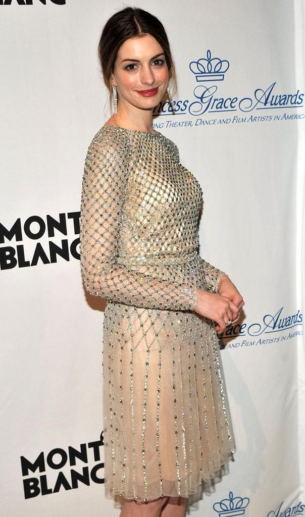 Anne Hathaway Princess Grace Awards Gala