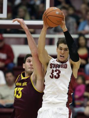 Powell helps Stanford beat Sun Devils 76-60