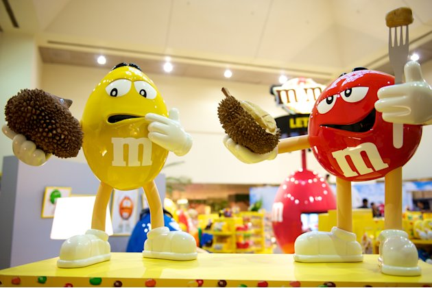 Sweet treats galore at Changis new M&Ms store 2