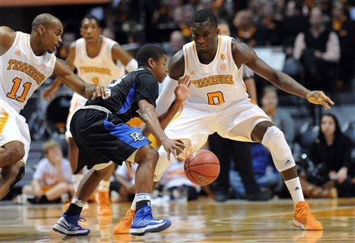 Stokes has 18, Tennessee tops Presbyterian 78-62