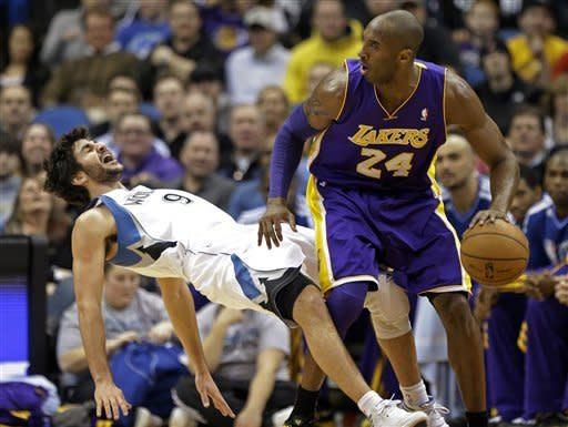 Gasol's start sparks Lakers to victory over Wolves