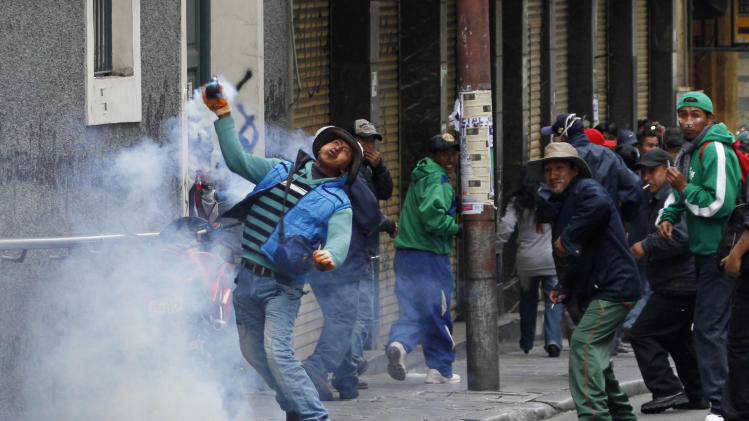 Bolivia's Morales faces 11th day of protests