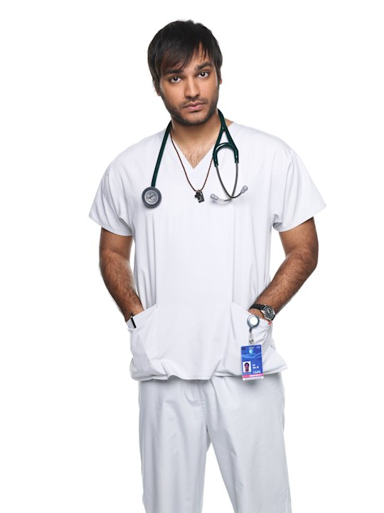 Arjun Gupta as Sam in &quot;Nurse Jackie.&quot; 