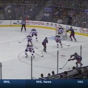 Cory Schneider Save on Scott Hartnell (10:03/1st)