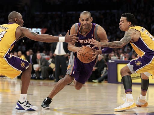 Lakers beat Suns 99-83 to win 3rd in a row