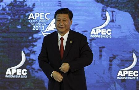 China's President Xi attends the APEC CEO Summit in Nusa Dua
