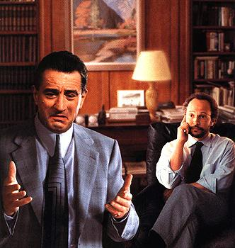 Robert De Niro and Billy Crystal in Warner Brothers' Analyze This