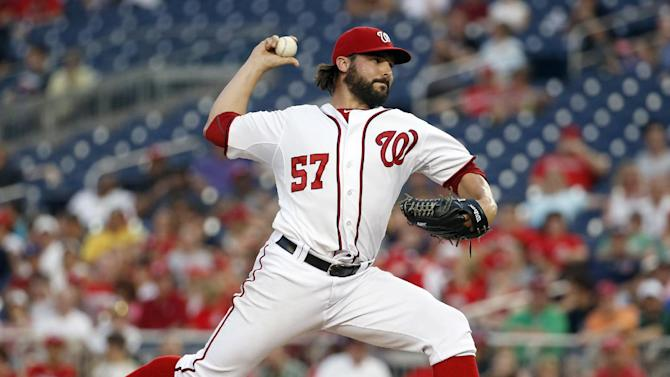 Nationals beat Braves 4-1 for series split