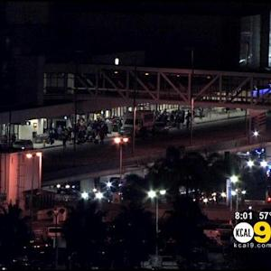 Car Accident Causes Concern At LAX
