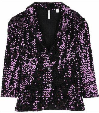 Iisli Tiffany Sequined Blazer - $498.00