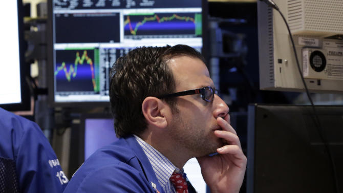 Stocks fall for a fourth day