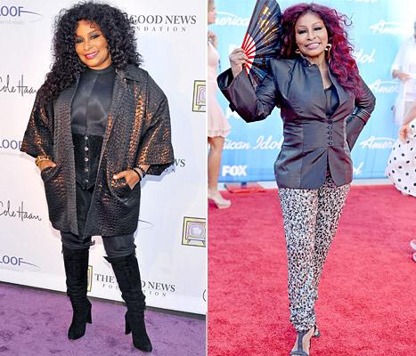 Chaka Khan Shows Off Slim Shape During American Idol Finale