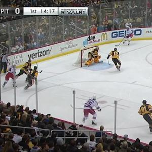 Fleury's save keeps it scoreless