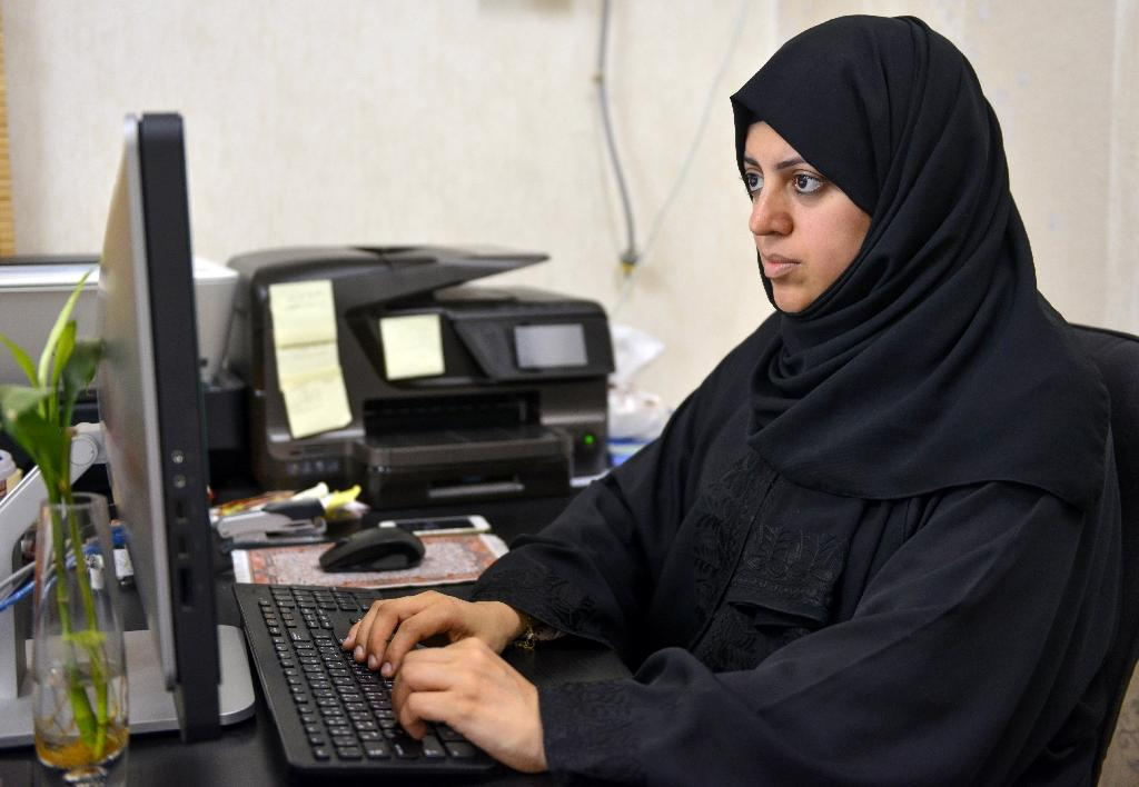 Despite barriers, Saudi women in first election bid