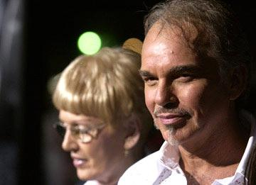 Billy Bob Thornton with mother Virginia at the Hollywood premiere of Universal Pictures' Friday Night Lights