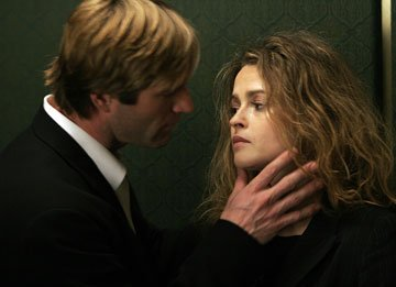 Aaron Eckhart and Helena Bonham Carter in Strand Releasing's Conversations With Other Women