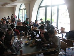 Hackers and Room at UC Berkeley