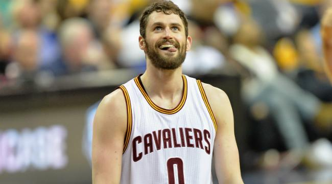 Before He Tweaked His Knee, Kevin Love Became The Worst 2-Pointer Shooter In NBA Playoff History