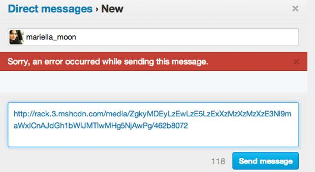 Twitter direct messages can no longer sending links if you're unverified