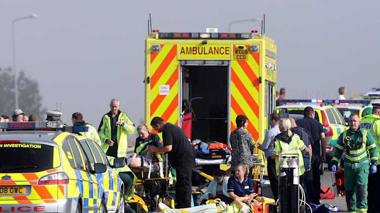 Isle of Sheppey bridge crash