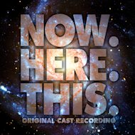This CD cover image released by Ghostlight shows &quot;Now.Here.This,&quot; the original Broadway cast recording. Jeff Bowen, who starred in the show as well as wrote the songs and lyrics, turned to the show&#39;s fans via crowdfunding to get a cast album produced, an idea that more in the theater community are embracing. (AP Photo/Ghostlight)
