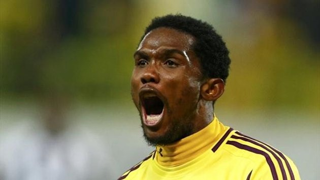 samuel eto&#39;o, anzhi-udinese, Reuters