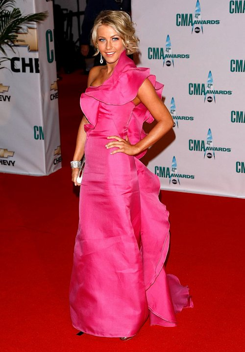 Julianne Hough attends the 42nd Annual CMA Awards at the Sommet Center on November 12, 2008 in Nashville, Tennessee.