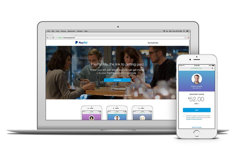 PayPal.me makes it easier to request money from your friends
