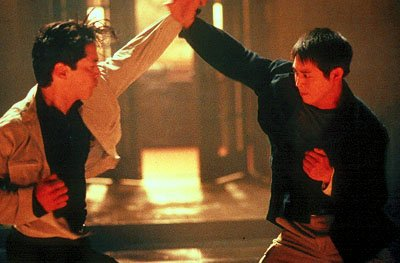 Russell Wong and Jet Li star in Warner Brothers' Romeo Must Die