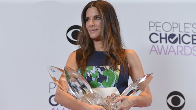 People's Choice Awards 2014: Sandra Bullock Wins Big (ABC News)