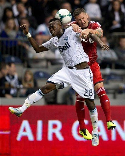Koffie scores in 60th as Whitecaps beat Toronto FC