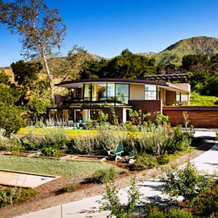 Sustainable from the plantings to the rooftops