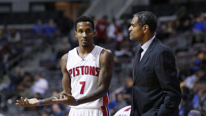 Pistons try to stay focused after coaching change