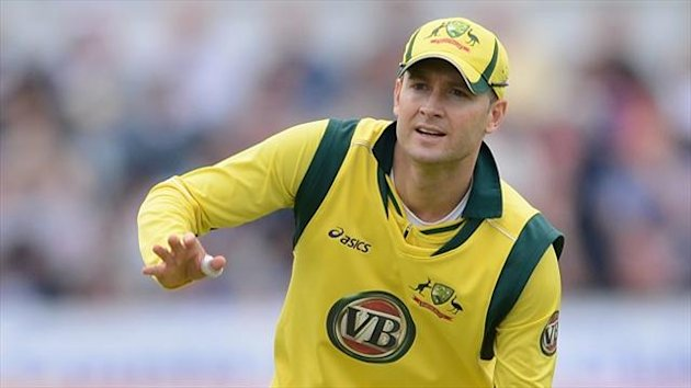Michael Clarke will skipper Australia at the Champions Trophy