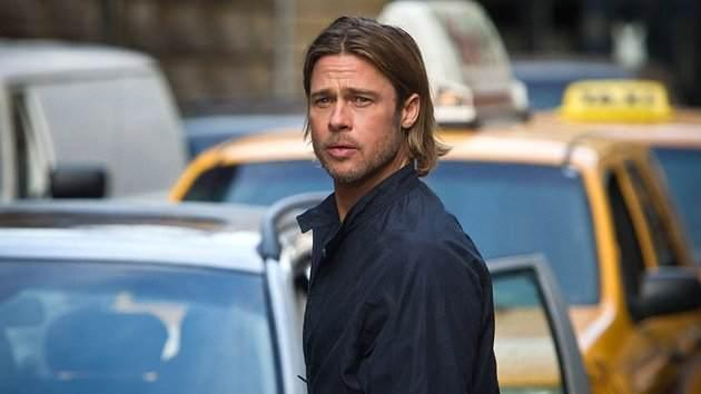 Brad Pitt seen in 'World War Z' -- Paramount
