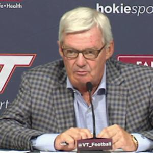 Virginia Tech Talks Big Game Against Ohio State