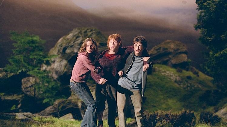 Harry Potter and the Prisoner of Azkaban 2004 Warner Bros. Pictures Emma Watson Rupert Grint Daniel Radcliffe