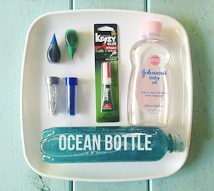 Ocean Sensory Bottle