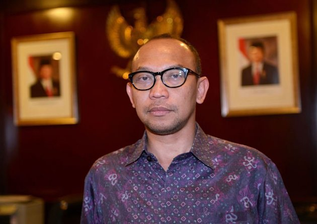 Indonesia's newly appointed finance minister Chatib Basri pictured at his office in Jakarta on May 20, 2013