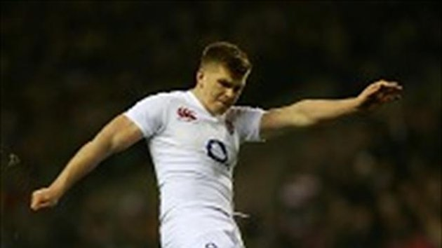 Owen Farrell&#39;s quad injury could hamper his kicking