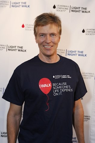 Jack Wagner at the Light The Night Hollywood Walk at Sunset Gower Studios, Hollywood, on October 6, 2012  -- Getty Images